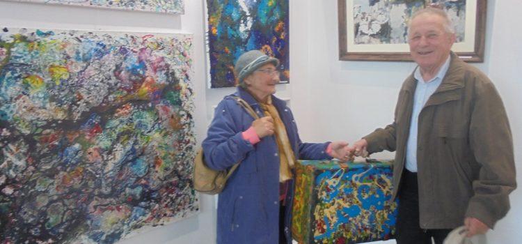 Seniorzy w Galerii Ratusz