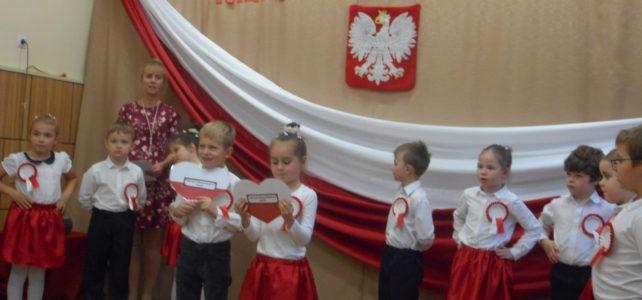 100-lecie odzyskania Niepodległości Polski z przedszkolakami