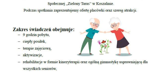 """Dzienny Dom Pogodna Jesień """"Senior +"""""""