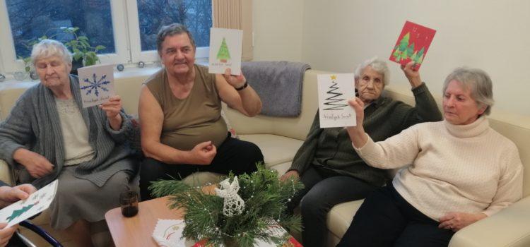 Świąteczna kartka dla Seniora