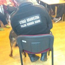 Psi  funkcjonariusz  Straży  Granicznej