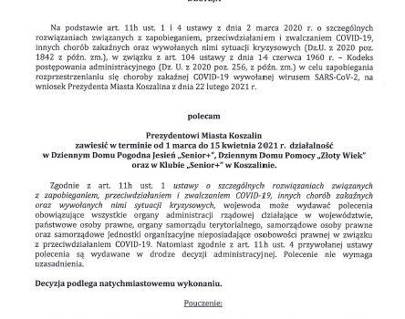 Decyzja Wojewody z dnia 25.02.2021