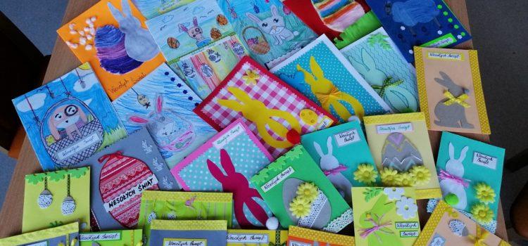 Kartki wielkanocne od dzieci