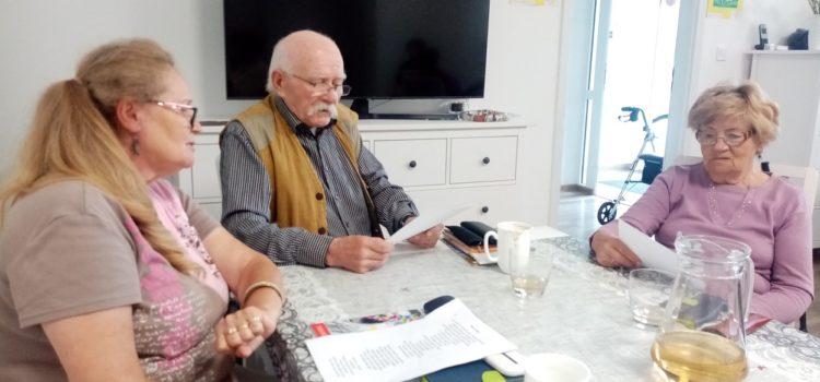 """""""…Gdzie są moje okulary?!"""" –  czyli rocznica urodzin Juliana Tuwima w Klubie """"Senior +"""""""